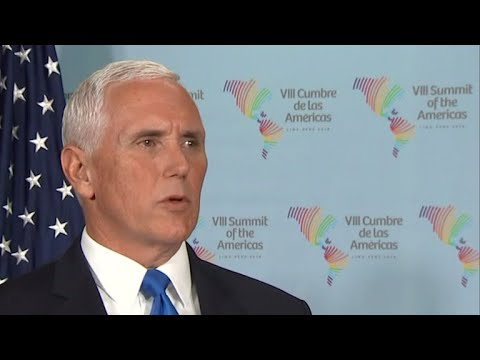 "Pence to Russia: ""You're on the wrong side of history"""