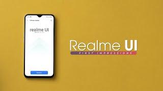 Realme UI First Impressions!