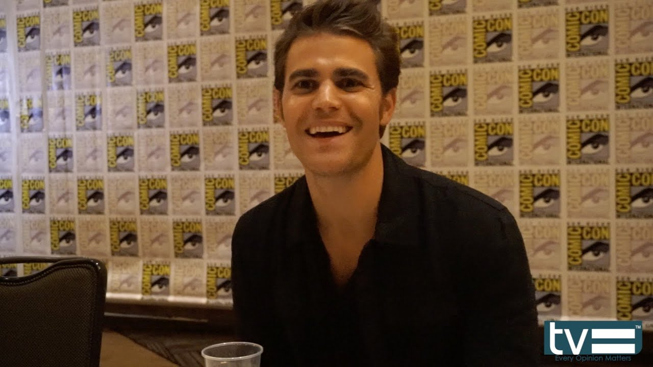Paul Wesley talks about his upcoming shirtless scene - YouTube
