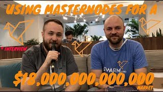 WHY SWARM IS USING MASTERNODES FOR A $18 TRILLION MARKET