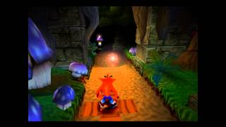 Crash Bandicoot 2 -023- Night Fight... Its Frightening!