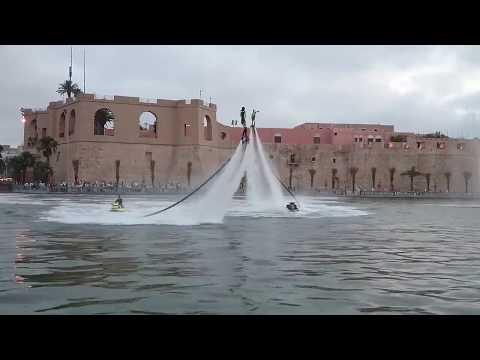 Celebration at Tripoli, Libya 7/7/2016