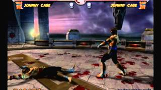 Mortal Kombat Deadly Alliance-Johnny Cage Arcade Ladder