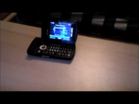 Exclusive Samsung u740 verizon commercial