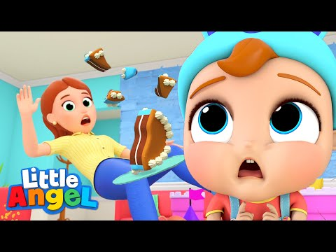Ouch, We Go Boom Boom! | Accidents Song | Little Angel Kids Songs