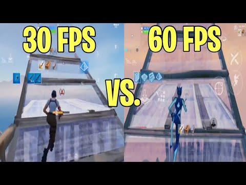 How To Get 60 FPS On Fortnite Mobile