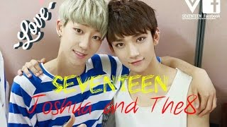 Seventeen Joshua and The8 { Myungsoo }