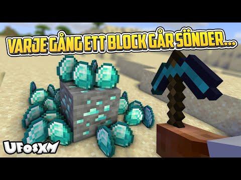 Minecraft, men itemdrops multipliceras varje gång!