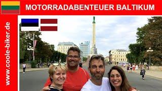 Das Baltikum mit den Motorrädern - Juli 2018 - Durch Litauen, Lettland & Estland