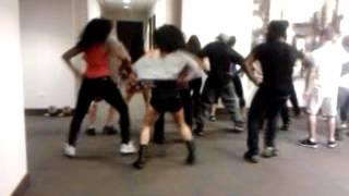 Thriller/ Gangman: Dana Hotel Zombie Takover rehearsal