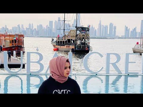 Travel vlog #9 best places to visit in Dubai | #Dubaicreekharbour| Dubai creek harbour park|