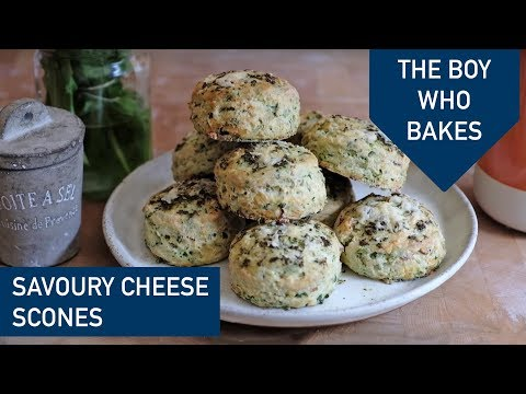 How To Make Savoury Scones - The Boy Who Bakes