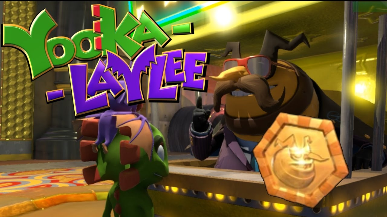 Yooka Laylee Handing In All 190 Casino Chips At Once Youtube Ps4yooka Reg 2