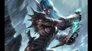 World of Warcraft 3 3 5  Рога комбат пвп ! домаг
