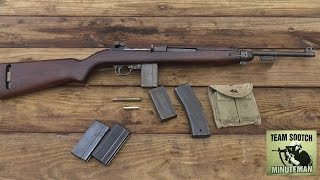 U S  M-1 Carbine 30 Caliber Review