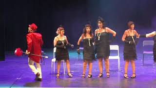 """Linfo Dance """"Burlesque"""" Teatro Cilea 14-7-2019"""