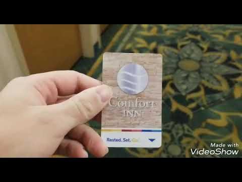 Hotel Room Tour: Comfort Inn Gold Coast Mall Ocean City Maryland