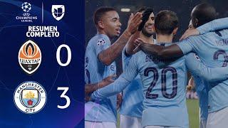 Shakhtar Donetsk 0-3 Manchester City - GOLES Y RESUMEN - Grupo F UEFA Champions League