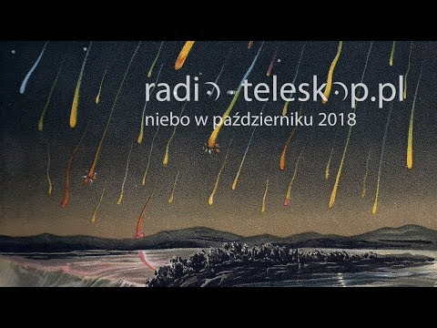 niebo w październiku 2018 | Drakonidy