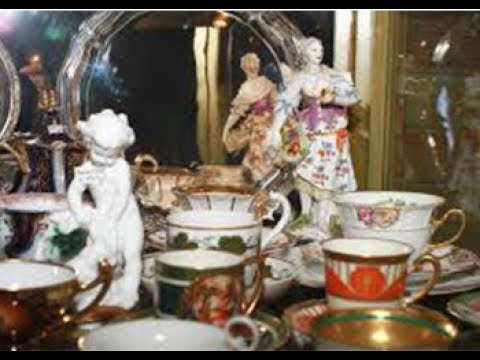 Коллекция старинного фарфора| Antique porcelain from Czech Republic