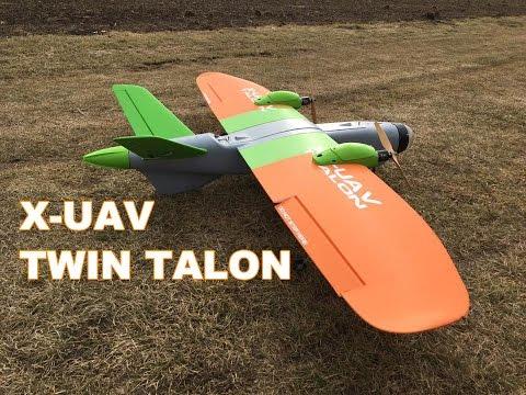 X-uav Mini Talon Обзор и сборка модели - YouTube
