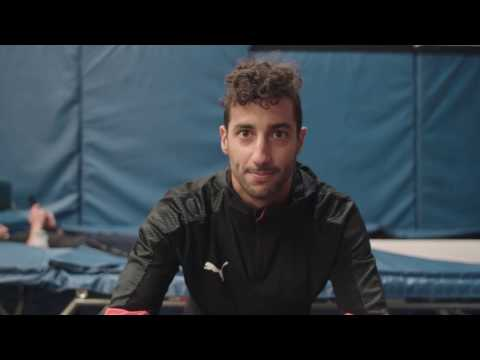F1 Driver Daniel Ricciardo's Training Regimen | Off-Season