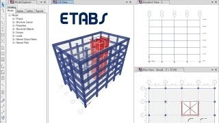 ETABS - 03 Introductory Tutorial Concrete: Watch & Learn