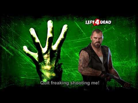 Francis Hates Friendly Fire (+Subtitles) - Left 4 Dead 2