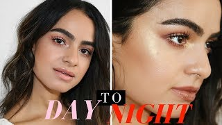DAY TO NIGHT W/ COLOURPOP YES PLEASE PALETTE