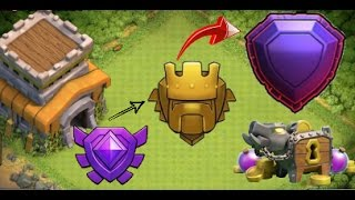 Clash of clans -TH8 HYBRID Troll Base - Best Protect 100% Dark Elixir & Trophies + Replays || Part 2