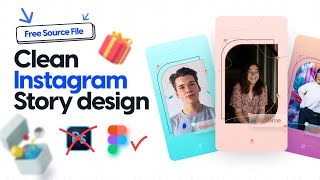 Instagram Story idea design - without Photoshop: including source file