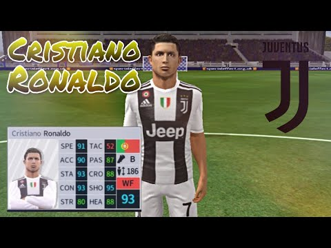 Cristiano Ronaldo Skills Goals Juventus Dream League Soccer 2018 Youtube