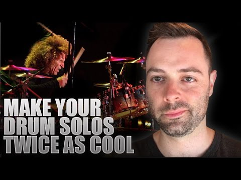 One Simple Trick to Make Your Drum Solos Twice as Cool