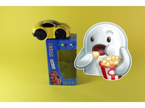 Распаковка игрушек машинки Unboxing toy cars  Игрушечный пудинг