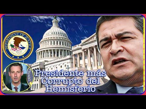 En Washington se refieren a JOH como el presidente más C0rrupto del Hemisferio!