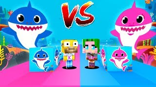 Lucky Blocks de Baby Shark en Minecraft