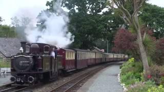 Steam of Ffestiniog Railway UK (Jun.2013) 2 イギリス フェスティニォグ鉄道の蒸気機関車(2013年6月) 2