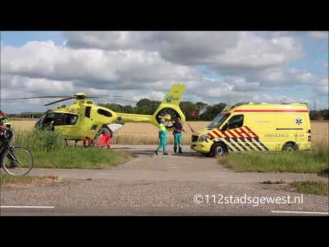 6da60d172dc Traumaheli Verdilaan Vlissingen 08-07-2019 - YouTube