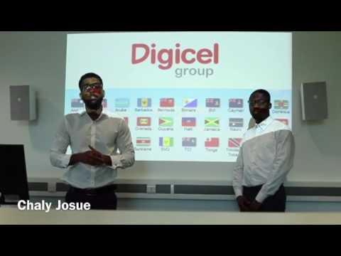 Digicel Group Presentation  ( Mamadi Kaba, Chaly Josue)