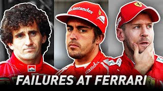 Why Do So Many Great Drivers Fail at Ferrari?