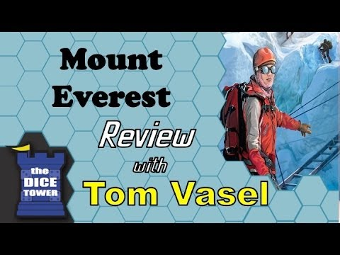 Mount Everest Review - with Tom Vasel