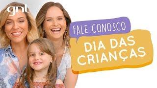 Um dia das crianças MUITO fofo com a Fê Rodrigues e Luísa | #39 | Fale Conosco | Júlia Rabello