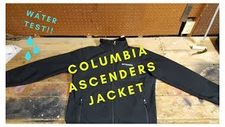 Columbia Ascender Softshell Full Zip Jacket
