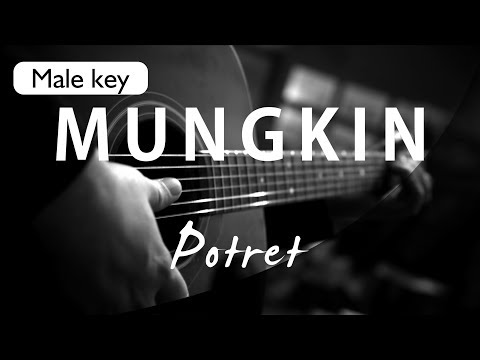 Mungkin - Melly Goeslaw / Potret Male Key ( Acoustic Karaoke )