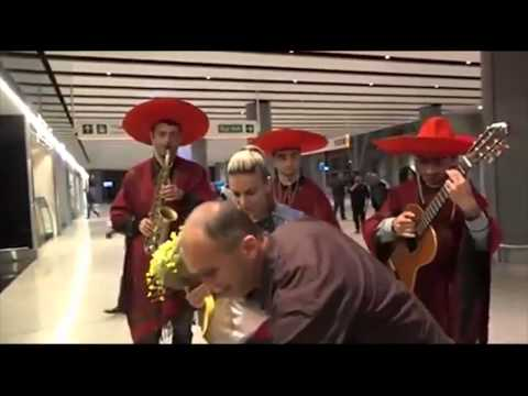 Armenian Man Meets Brother At Airport With Surprise