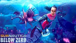 凍てついた深海200mへ!そして廃墟で謎の人物に出会う衝撃のストーリー - Subnautica: Below Zero #2