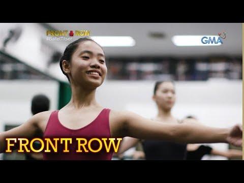 Front Row: 16-anyos na dalaga, isa nang ballet teacher sa murang edad