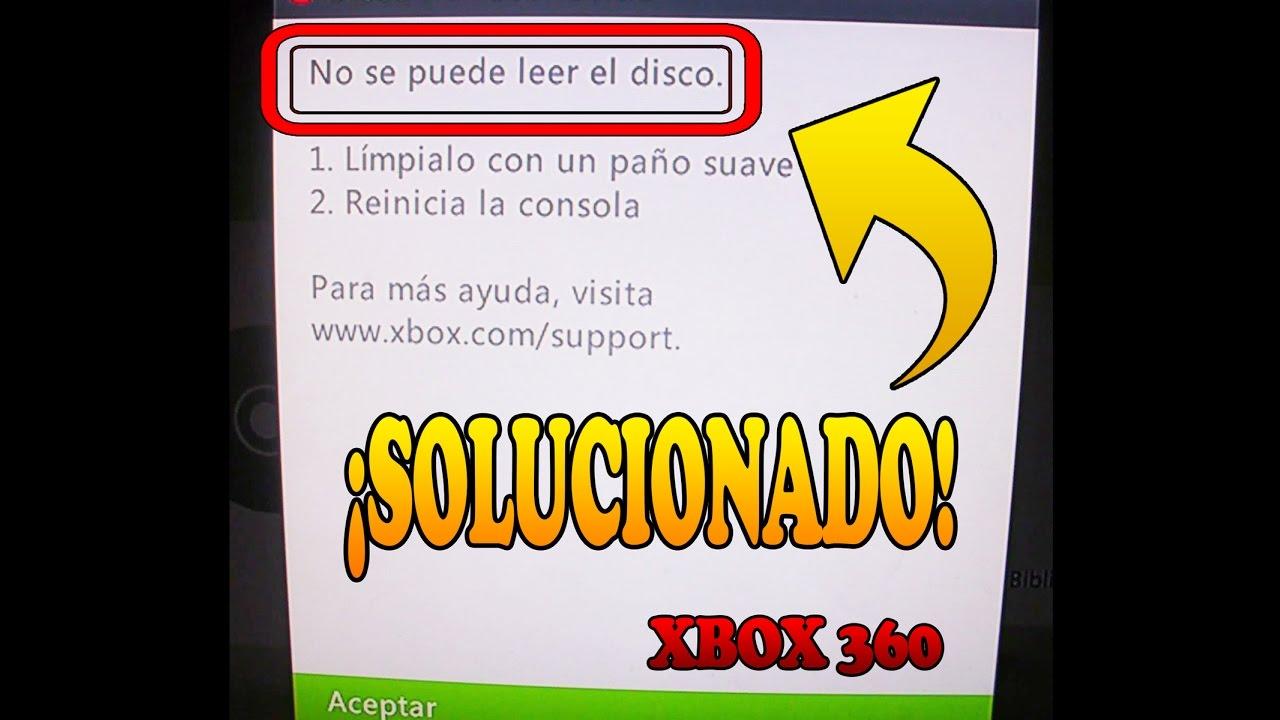 Como solucionar el problema disco no reconocido xbox 360