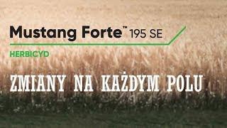 Mustang Forte 195 SE - zastosuj i obserwuj zmiany na każdym twoim polu