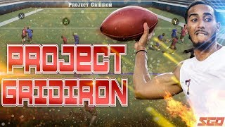 NEW Football Game! Project Gridiron First Gameplay Details!